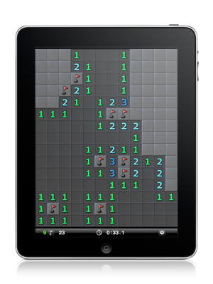 Minesweeper Boom! for iPad screenshot